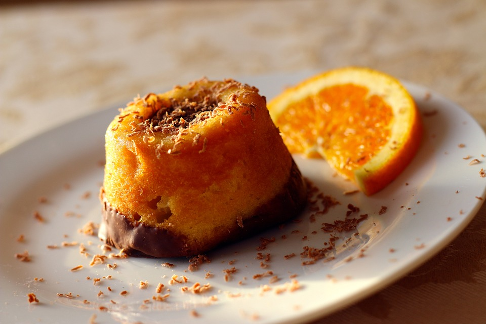 Free photo: Dessert, Orange, Food, Chocolate - Free Image ...