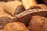 chleb, rolka, jeść