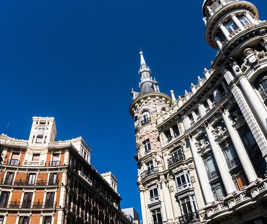 edificios madrid antiguo ciudad