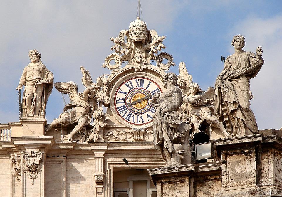 Vatikanstadt, Figuren, Statuen