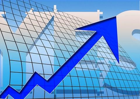 Arrows, Success, Ascending, Profit, Grid