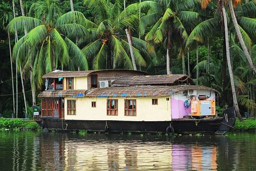 House Boat, Boat, Travel, Water, Nature