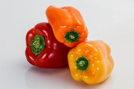 Sweet Pepper, Bell Pepper, Salad, Food