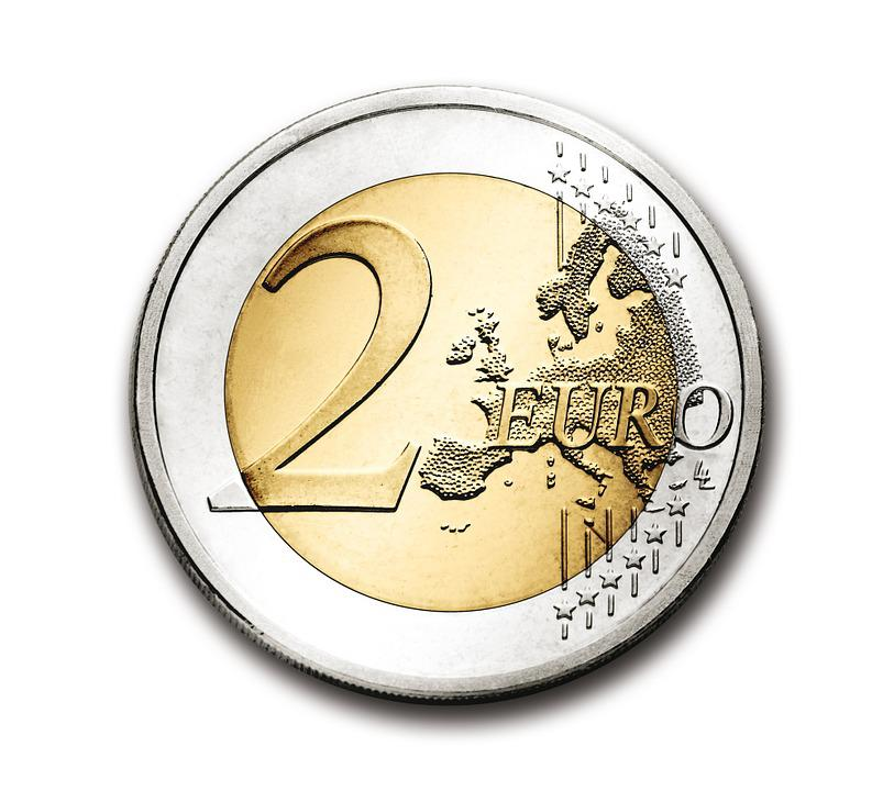 photo gratuite euro 2 pi ce de monnaie monnaie image. Black Bedroom Furniture Sets. Home Design Ideas