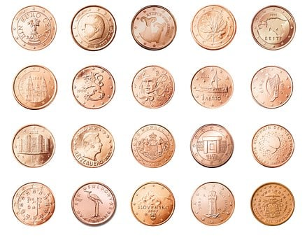 Cent, 1, Coin, Currency, Europe, Money