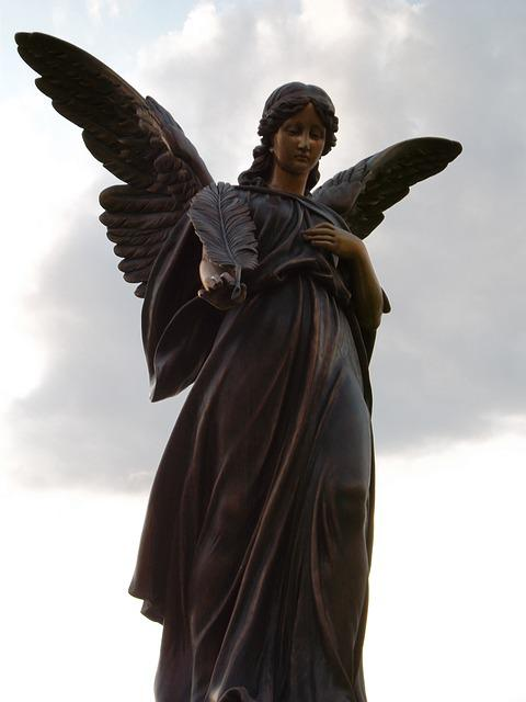 Free Photo Statue Angel Sculpture Religion Free