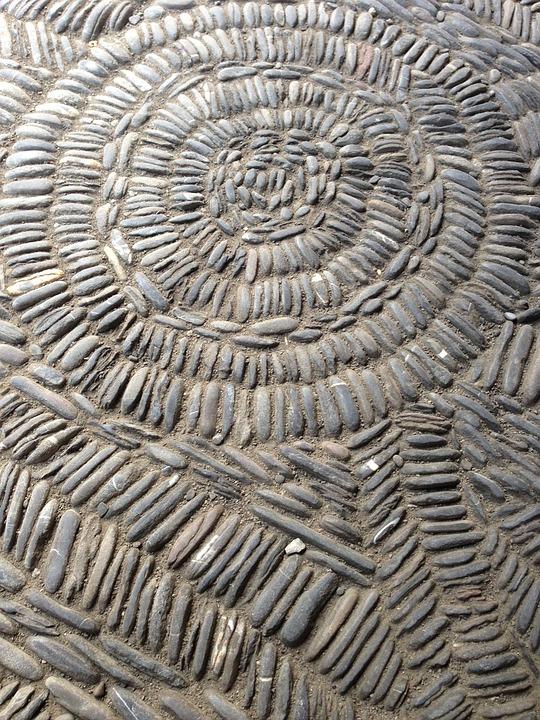 suelo piedra textura mosaico estructura