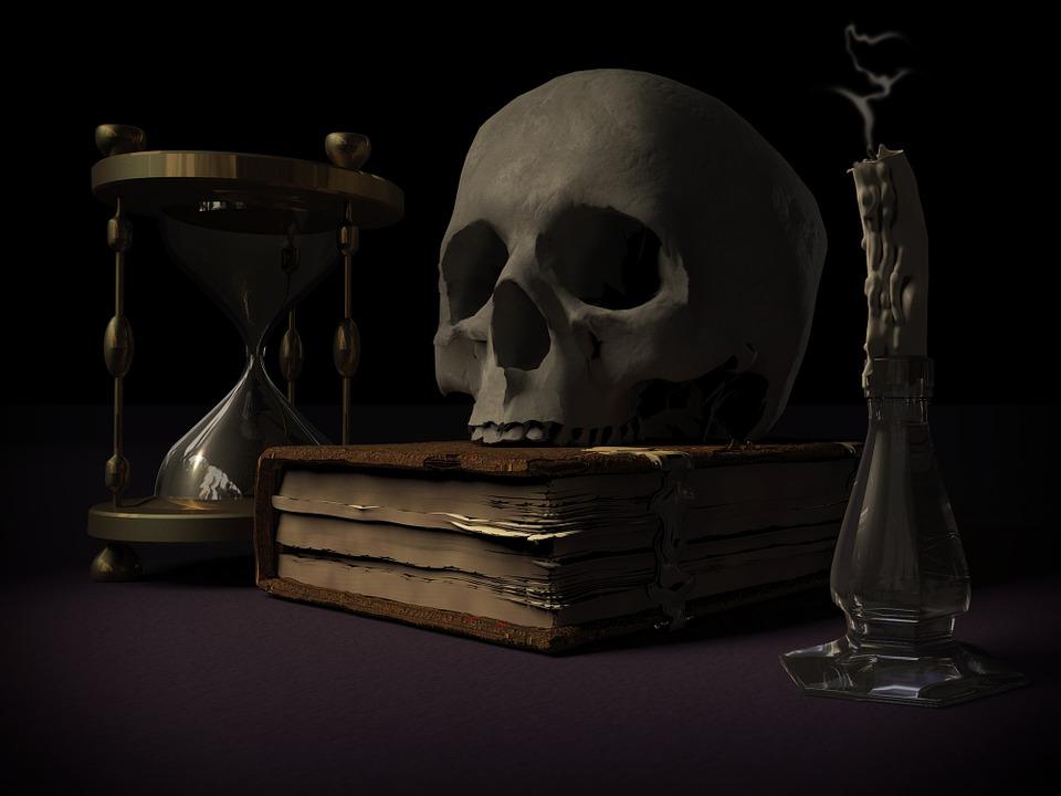 Mortalità, Teschio E Ossa Incrociate, Vanitas