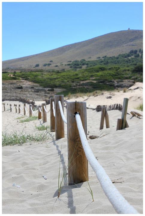 Seil Dunen Sand Kostenloses Foto Auf Pixabay