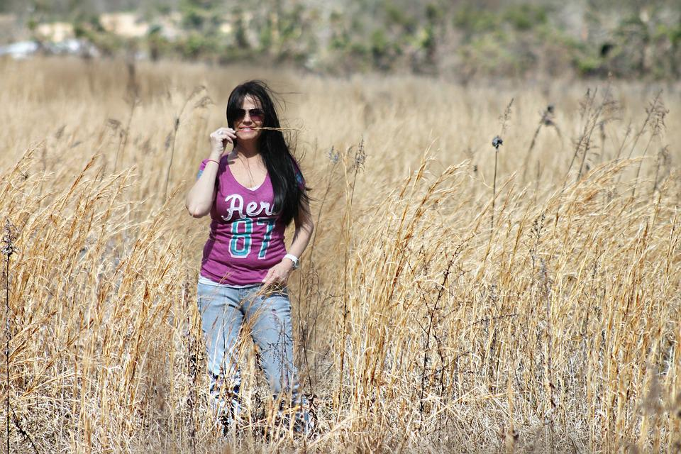 Country Girl Woman Wheat Field  Free Photo On Pixabay-6354