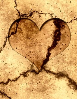 Heart, Dirty, Dirt, Structure, Ground
