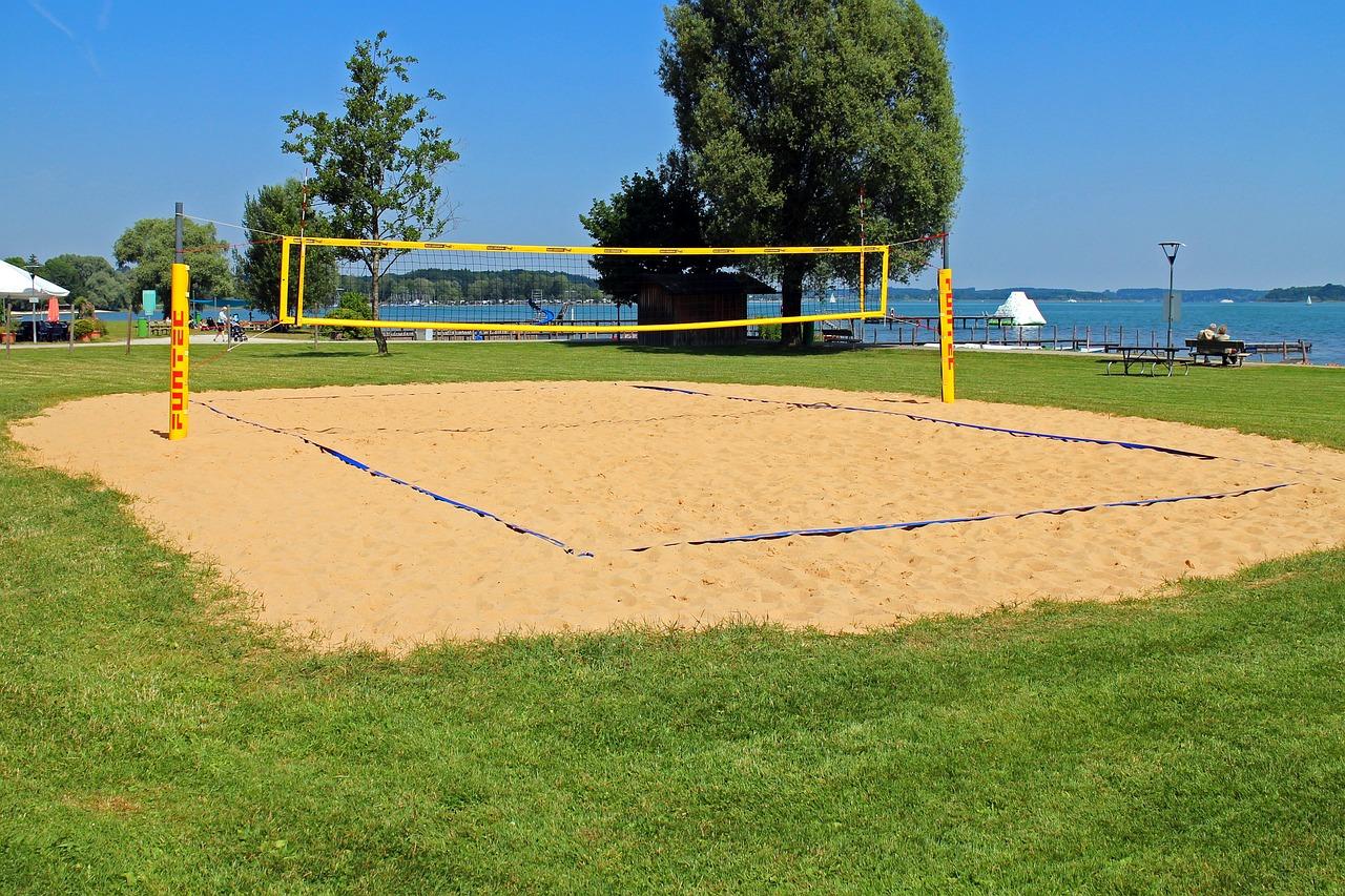 Своими руками площадку для пляжного волейбола