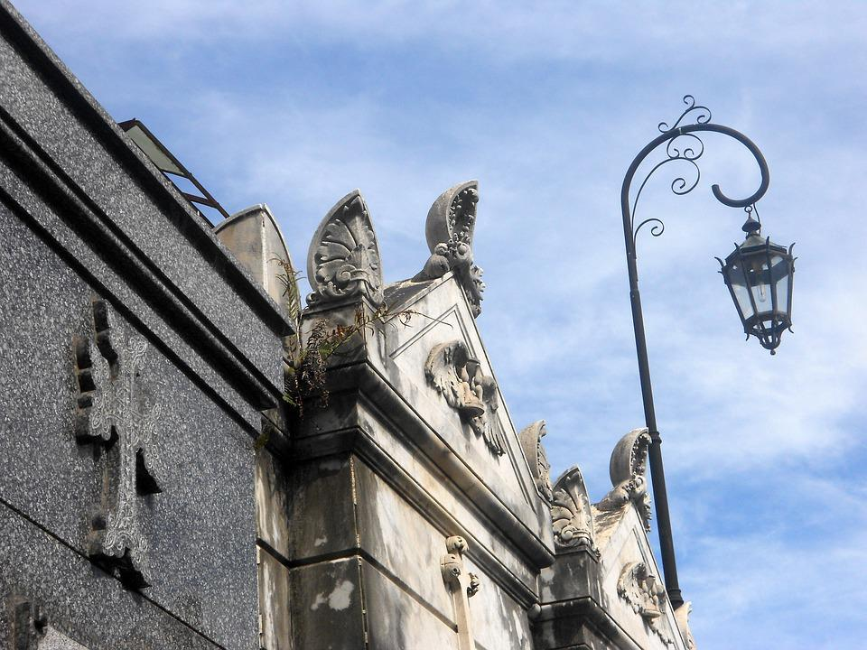 Lampy Uliczne Cmentarz Fasada Darmowe Zdjęcie Na Pixabay