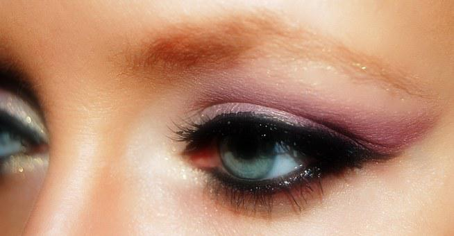 Eye Close Makeup Eye Shadow Make Up Mascar