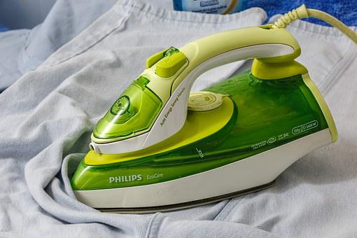 Ironing, Iron, Press, Clothing, Clothes