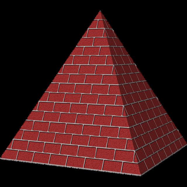 free illustration  pyramid  shape  3d  triangle
