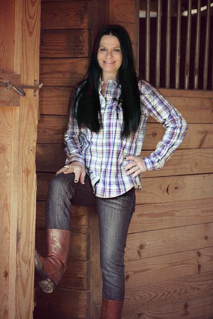 Country Girl Woman Barn 183 Free Photo On Pixabay