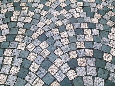 Cobbles, Floor, Pattern, Road, Rough