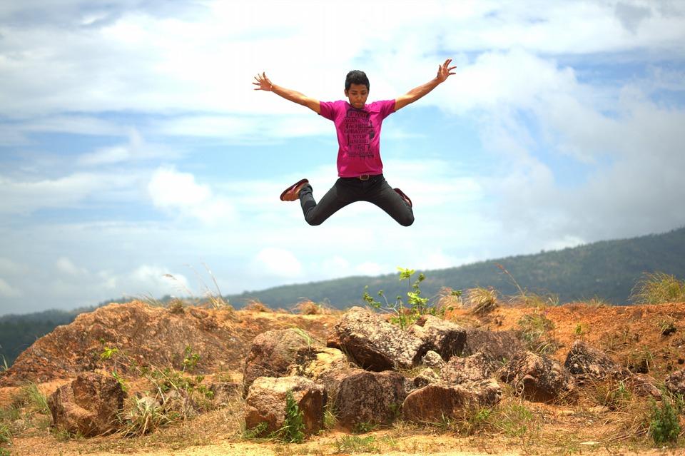 boy jump happy 183 free photo on pixabay
