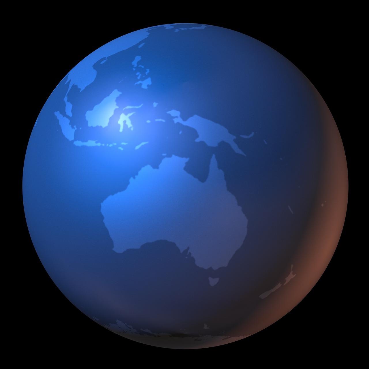 Australia Maailmankartta Kartta Ilmainen Kuva Pixabayssa