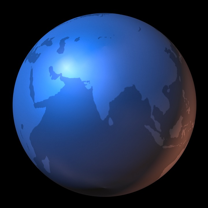 India On A Map Of The World.India Map Of The World Free Image On Pixabay