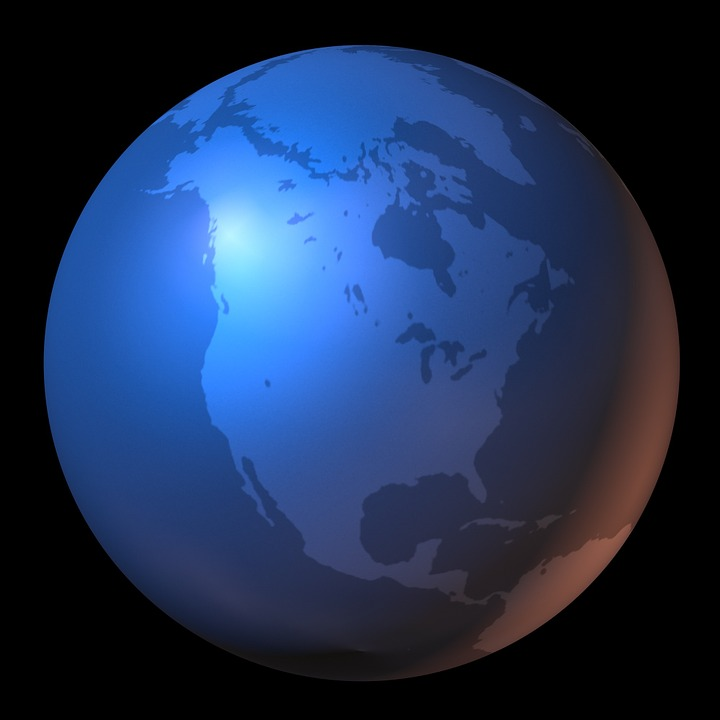 Free illustration North America Map Of The World Free Image on