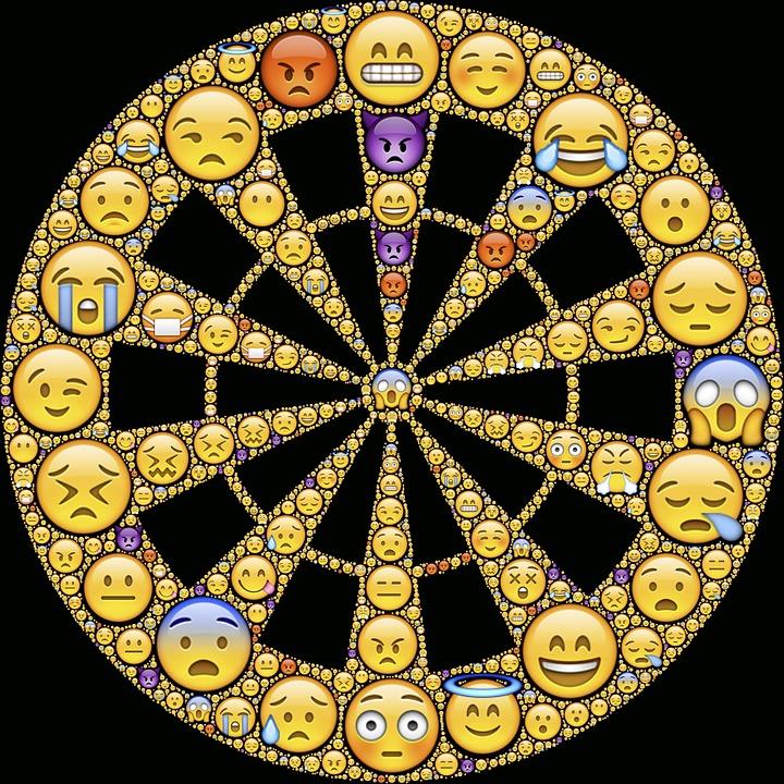 gratis illustratie emoticons emoties emotionele