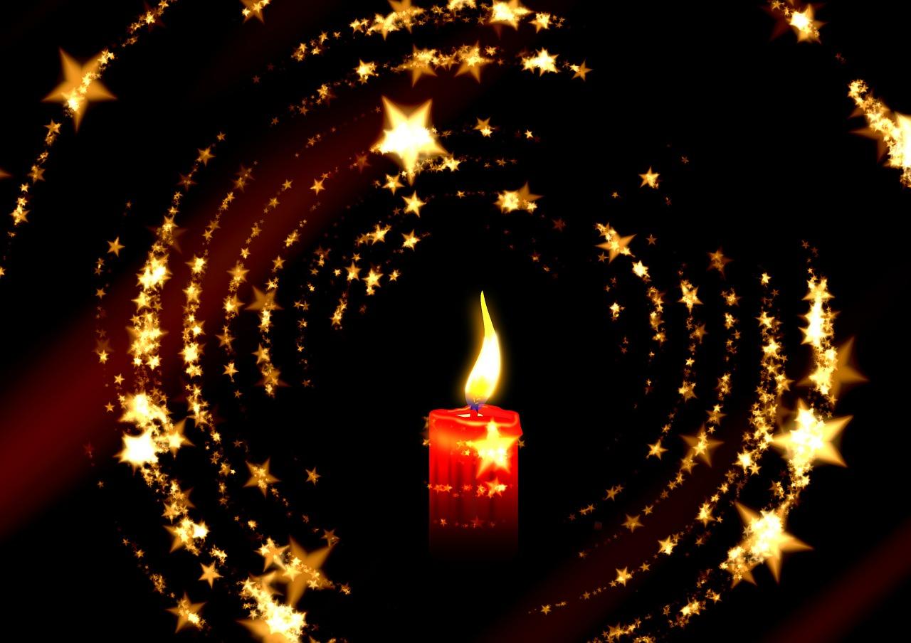 Картинки звезды и свечи