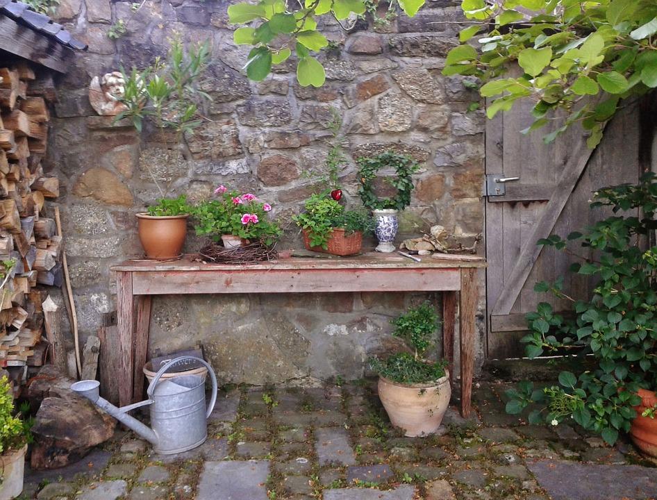 Landhausstil gartendeko  Garten Gartendeko Gartendekoration · Kostenloses Foto auf Pixabay