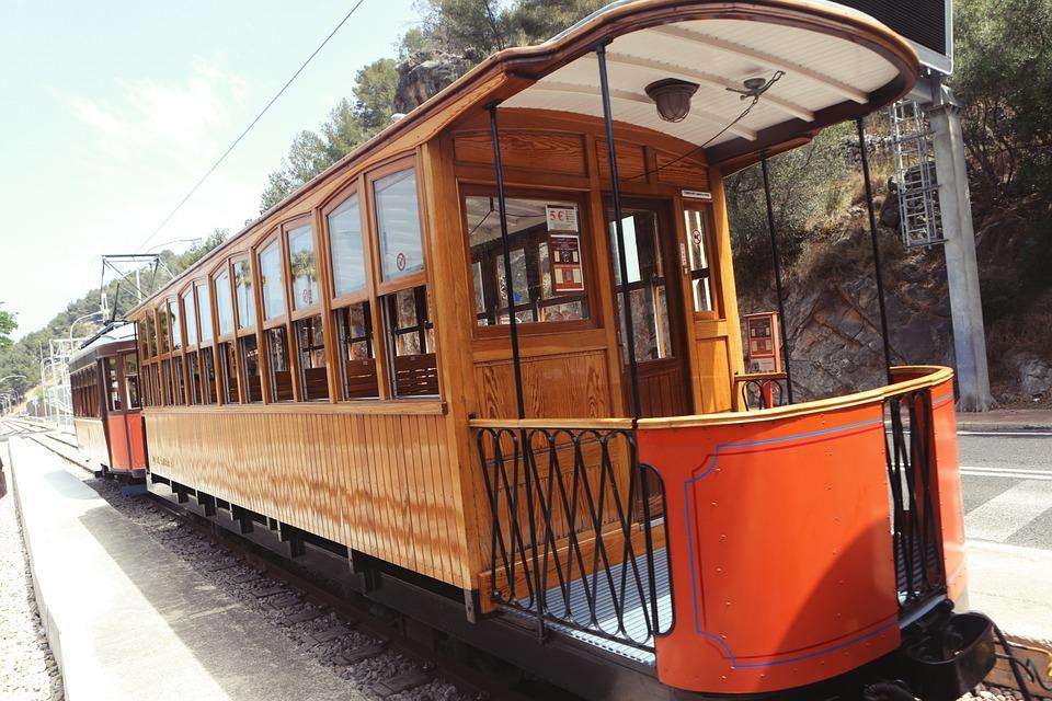 Free Photo Tramp Train Wagons Vehicle Free Image On