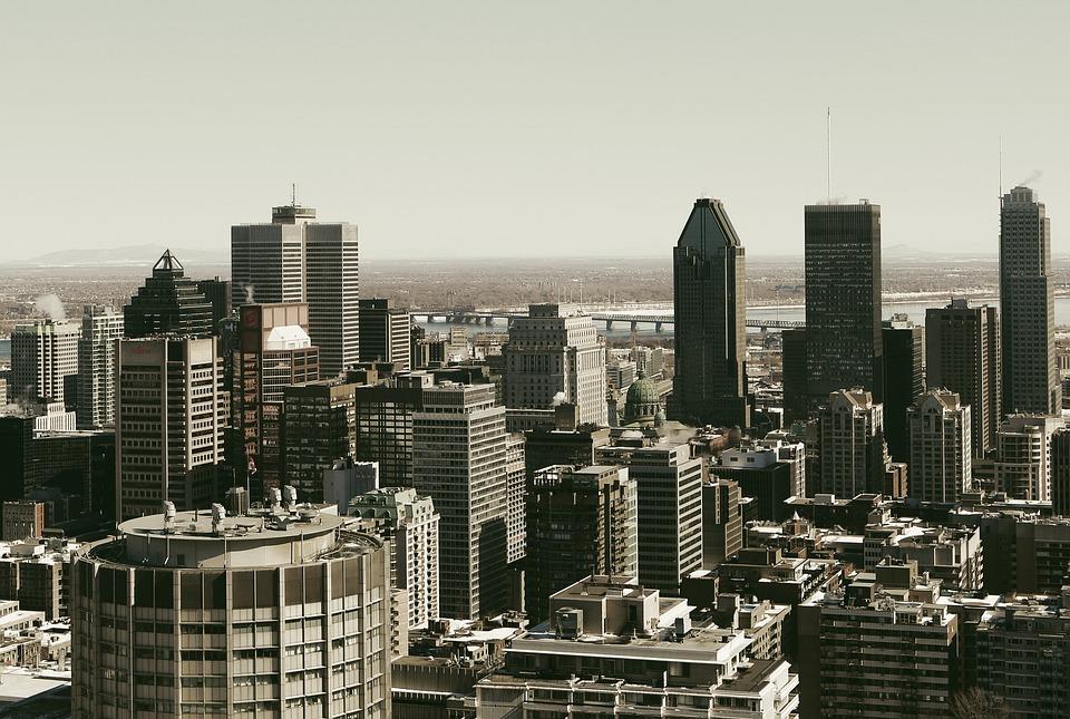 montreal skyline city free photo on pixabay