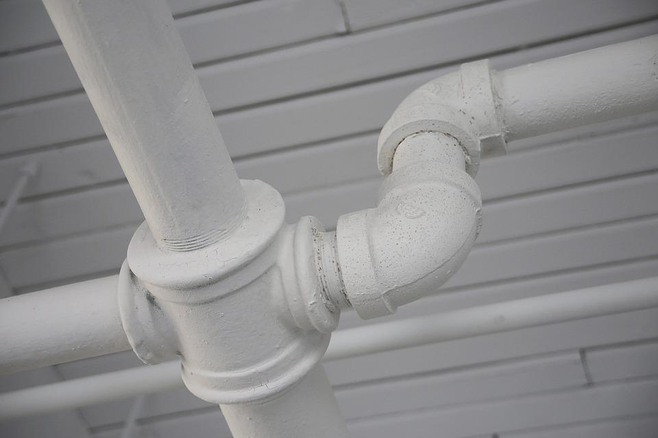 Pipe, Plomberie, Connexion, Pipeline, Blanc