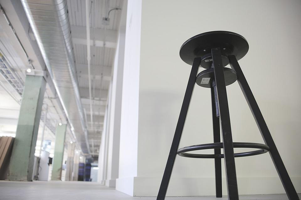 Stool, Seat, Tripod, Interior, Chair, Furniture, Modern