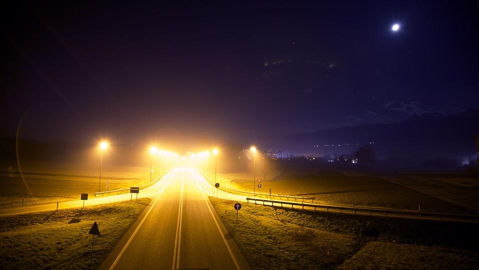 Free Photo Highway Street Road Night Free Image On