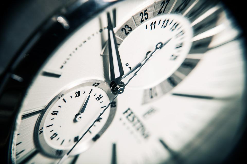 Reloj, Tiempo, Ver, Horas, Minutos, Segundos, Estilo