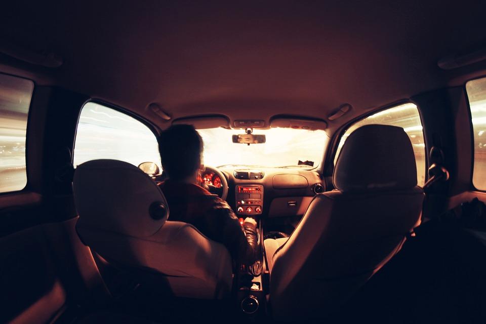 Car, Driver, Driving, Vehicle, Interior, Auto