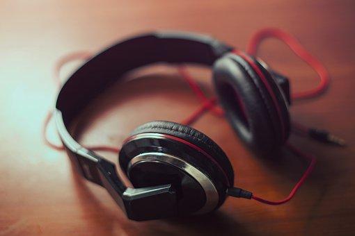 Headphones Earphones Audio Mp3 Music Sound