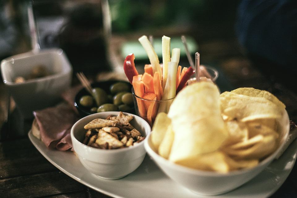 Tapas, Aperitivos, Fichas, Club, Los Alimentos, Italia