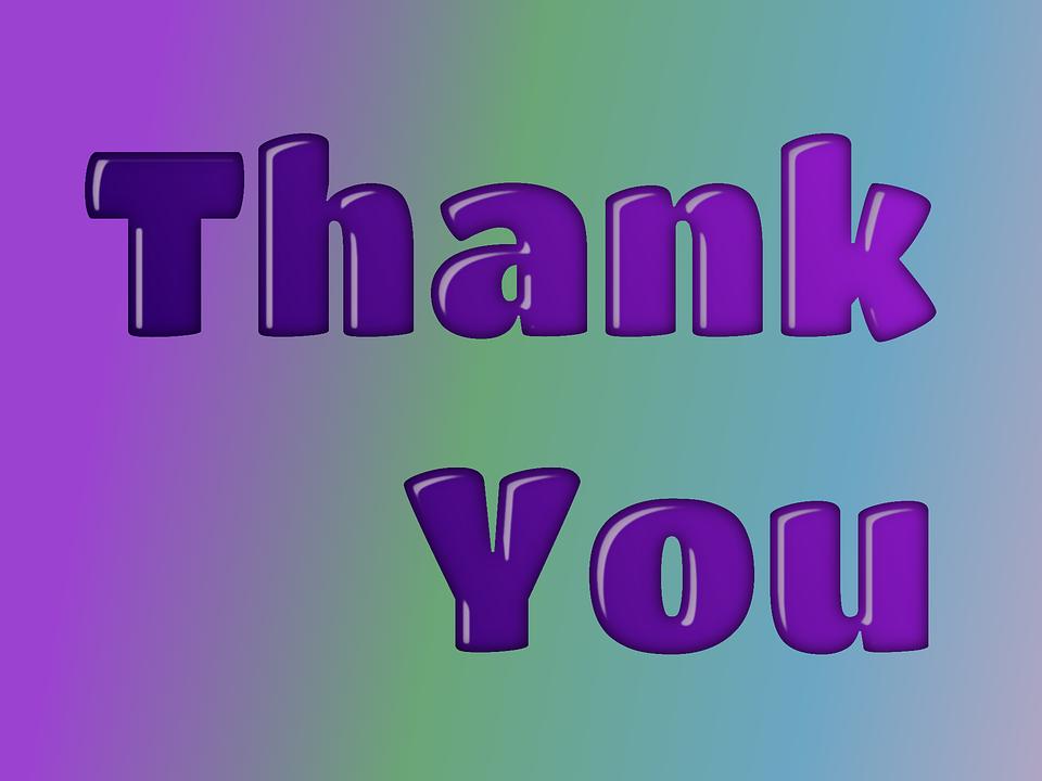 Thank You Gratitude Grateful · Free Image On Pixabay