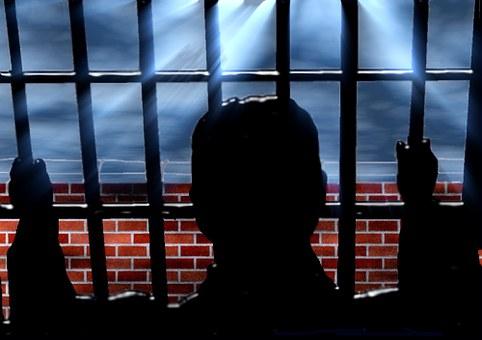 Prisión, Trena, Capturado, Sentarse
