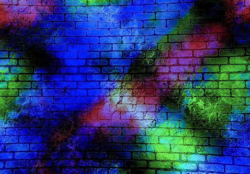 Ladrillos de colores construye paredes con bloques de - Ladrillos de colores ...
