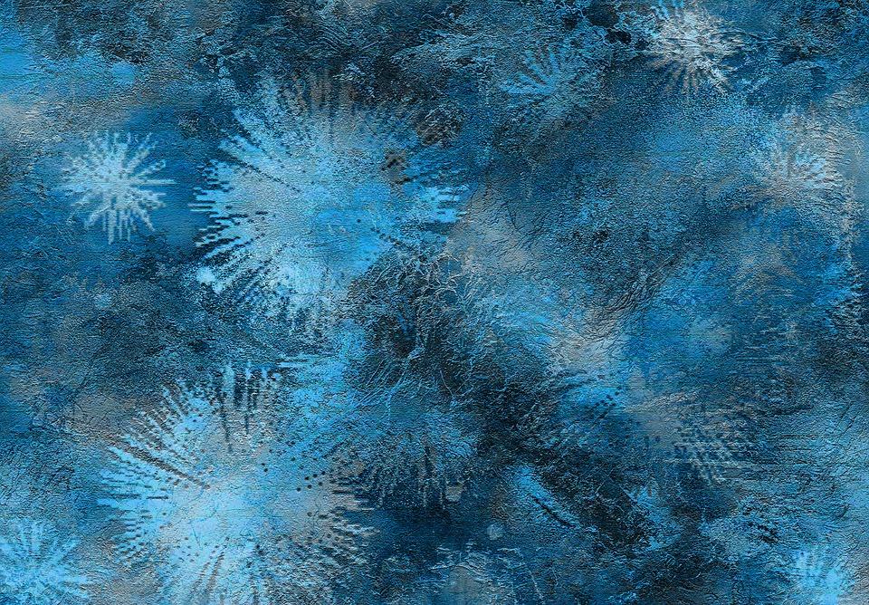 Dark Blue Painting Canvas