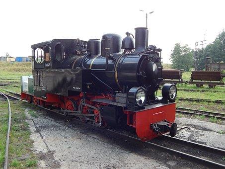 Kolej Wąskotorowa, Pociąg, Wagony
