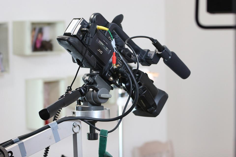 カメラ, ビデオ カメラ, レンズ, 技術, デジタル, 映画, Handcam, カメラクレーン, スタジオ