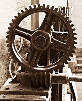 Gear, Mechanics, Wheels, Transmission
