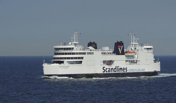 Ferry, Water, Sea, Boats, Transport