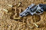 firearm, revolver, bullet