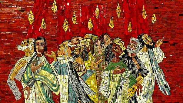 Mosaic, Image, Art, Christen, Believe