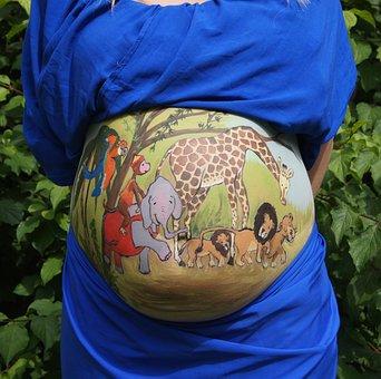Pintura corporal para embarazadasArtmakerstudio, Body Painting Madrid