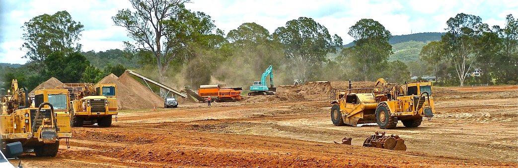 Bulldozer, Crawler, Earth-Moving